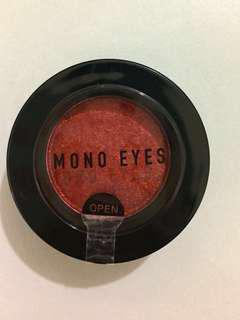 Mono eyes 棕紅色/啡紅色/酒紅色眼影 brown red/ wine red eyes shadow