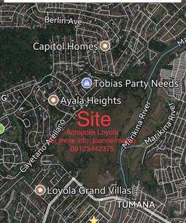 Katipunan Avenue Extension Preselling Lot