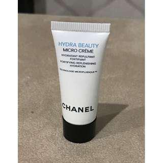(NEW) Sample Chanel Hydra Beauty Micro Creme mosturizer (manufacturing date Feb 2018)