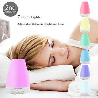 Ultrasonic Aroma Diffuser and Humdifier Brand New