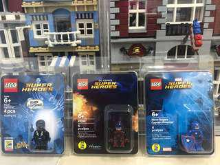 Lego SDCC Captain America Atom Black Lightning