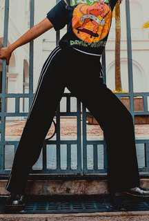 🚚 Vintage 90s/early 00s Chanel Sport Sweatpants S/M AUTHENTIC