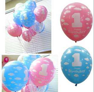 🚚 1st Birthday Balloon