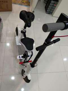 Xiaomi mijia m365 electric scooter with seat.