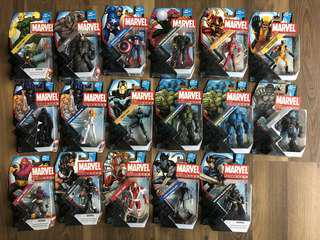 Marvel Universe Series 5 Thanos and more (3 3/4 size)