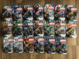 Marvel Universe series 4 Spiderman and more (3 3/4 size)