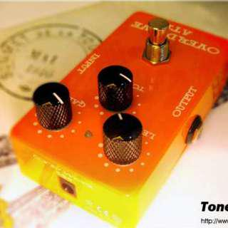Toneweal guitar effect pedal Distortion AT2