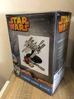 Star Wars X-Wing Knife Block & Set of Knives