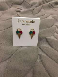 kate spade ice cream earrings