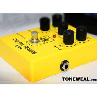 ToneWeal guitar effect pedal Digital Reverb GT1