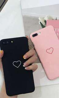 Iphone 7 / 8 / 8 plus / X Heart Cover
