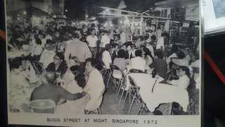 Bugis Street at night 1972