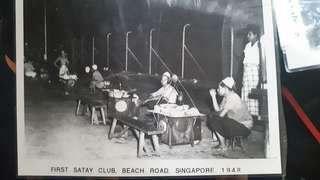 First Satay Club Beach Road 1940s