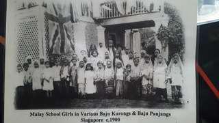 Malay School girls 1900