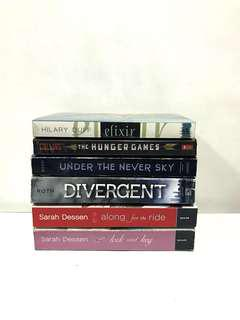 BOOKS FOR ONLY 100 PESOS EACH!
