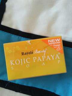 kojic Papaya Royale soap