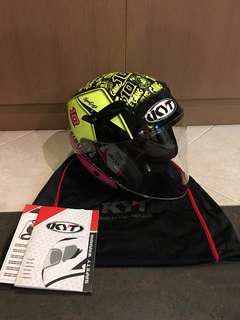 Helmet KYT Hellcat Open Visor