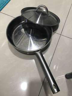 🚚 Ikea不鏽鋼鍋+蓋