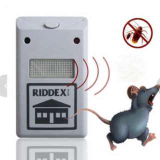 Riddex Plus Pest Repellent Repelling Aid with Night Lamp