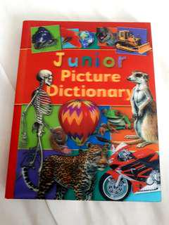 Junior Picture Dictionary book hard cover in excellent conditon