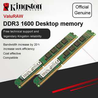 Kingston Value RAM 8GB 1600MHz PC3-12800 DDR3 Desktop Memory