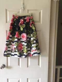 Floral Flair Skirt