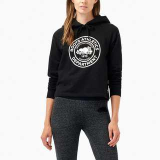 Brand New Black Roots Department Hoody XXS fits like XS or Small