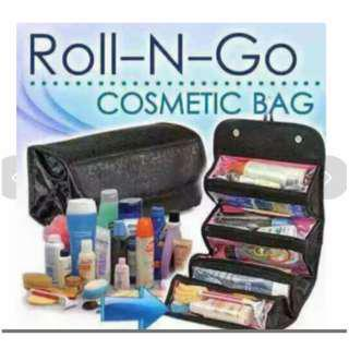Roll N Go Cosmetic & Toiletries Bag Hand Carry for Travel
