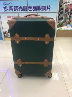 (全新)20寸復古行李箱