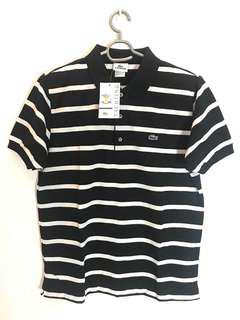 Lacoste stripe polo shirt