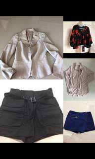 (S/M) Women Clothes In Bundle