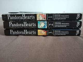 Pandora Hearts: Caucus Race Vol. 1-3
