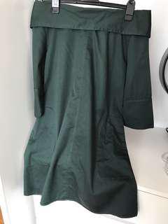(P) Off Shoulder Casual Dress