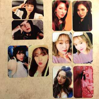 Red Velvet The Perfect Red Velvet Bad Boy Unofficial / Duplicate / Replica Photocards