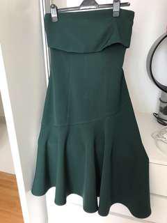 (P) dressing paula off shoulder dinner dress