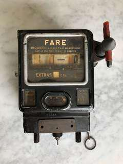 Old Singapore Taxi Meter
