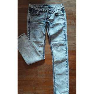 NICHII Blue Low Waist Jeans Pants #MidSep50