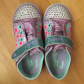 Sketchers twinkle toes 閃燈鞋 size 26.5