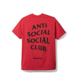 Authentic Anti Social Social Club (ASSC) tees
