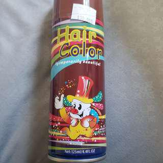 BN Wine Colour Hair Spray Washable With Normal Shampoo
