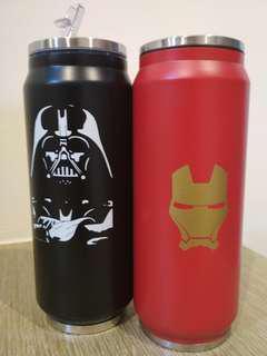 Starwars / Avengers vacuum cup