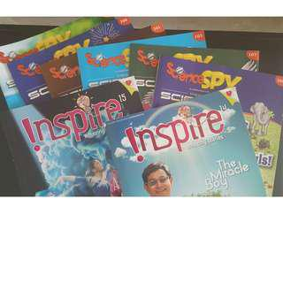 Science spy and inspire mag