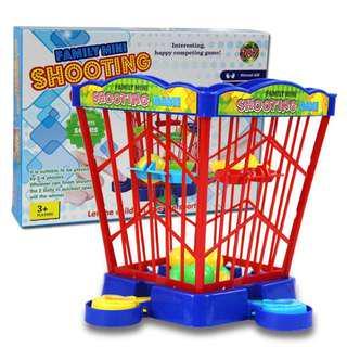 Mini Catapult Basketball Jump ball Finger toys Shooting Game