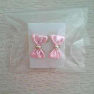 Ribbon Ear Studs