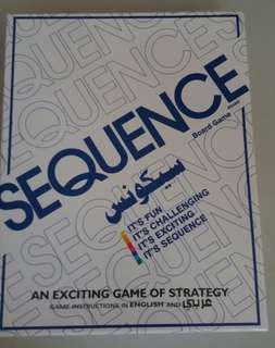 Sequence Brand Board Game