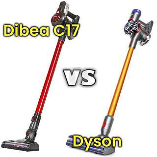 ✔FREE DELIVERY: Dibea C17 VS Dyson Cordless Vacuum Cleaner 12 Months Local Warranty
