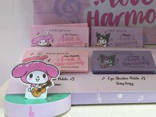 現貨 Cute Press My Melody Kuromi 六色眼影 Eyeshadow Palette