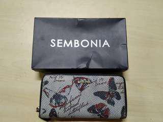 Sembonia double zip purse