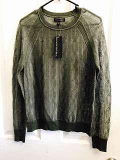 Green sheer jumper