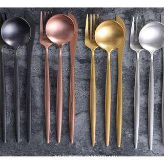 304 Stainless steels cutlery set